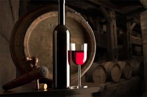 Вино в подвале